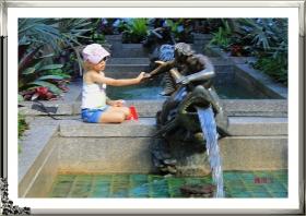 洛克菲勒中心—渔翁与女孩