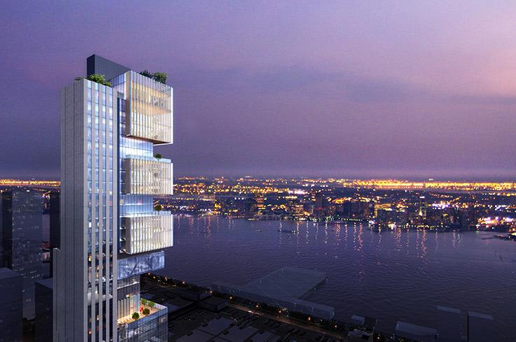 中国人的Kuafu 置业申请没收它自已和合伙人在纽约中城Hudson rise旅馆和公寓楼的项目 ..._图1-1