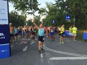 中央公园马拉松系列第二次20英里测试