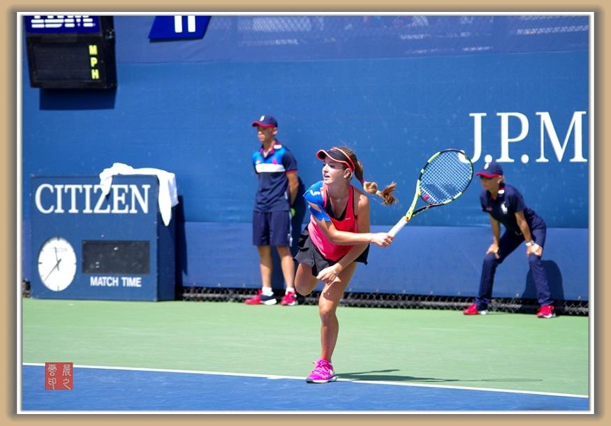 美国网球公开赛花絮--(2015年