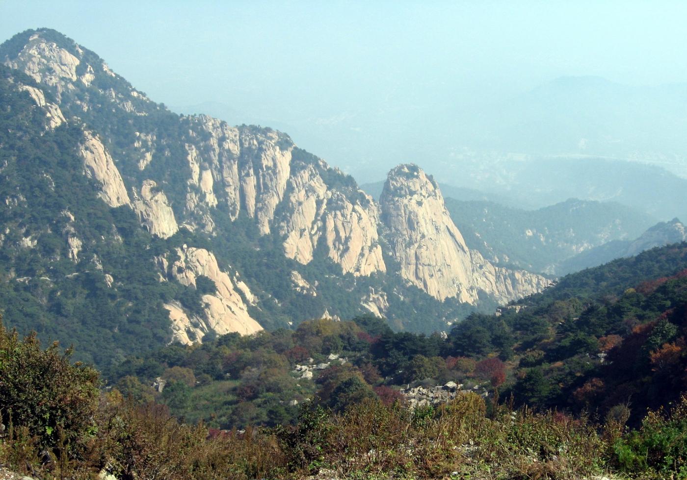 山东之行:登临泰山(图)