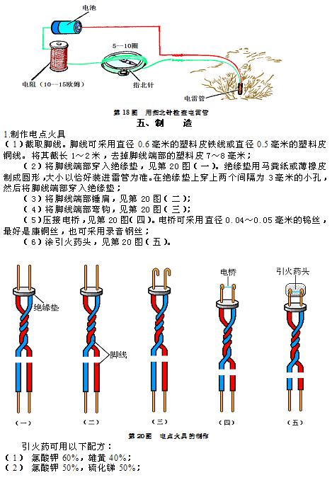 民兵地雷爆破教材_图1-22
