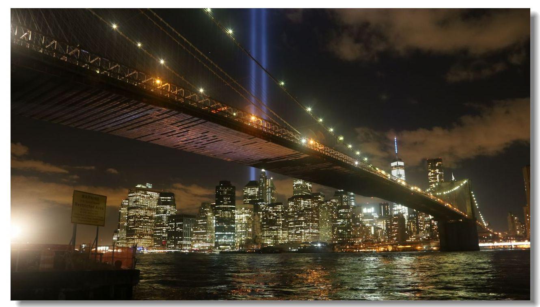 纪念9.11光柱及夜景_图1-7