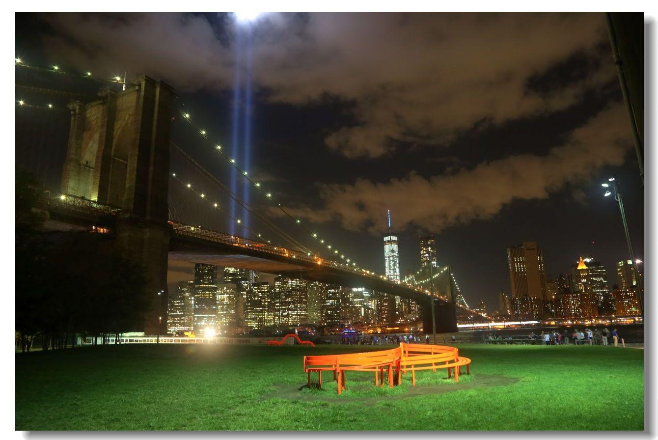 纪念9.11光柱及夜景_图1-8