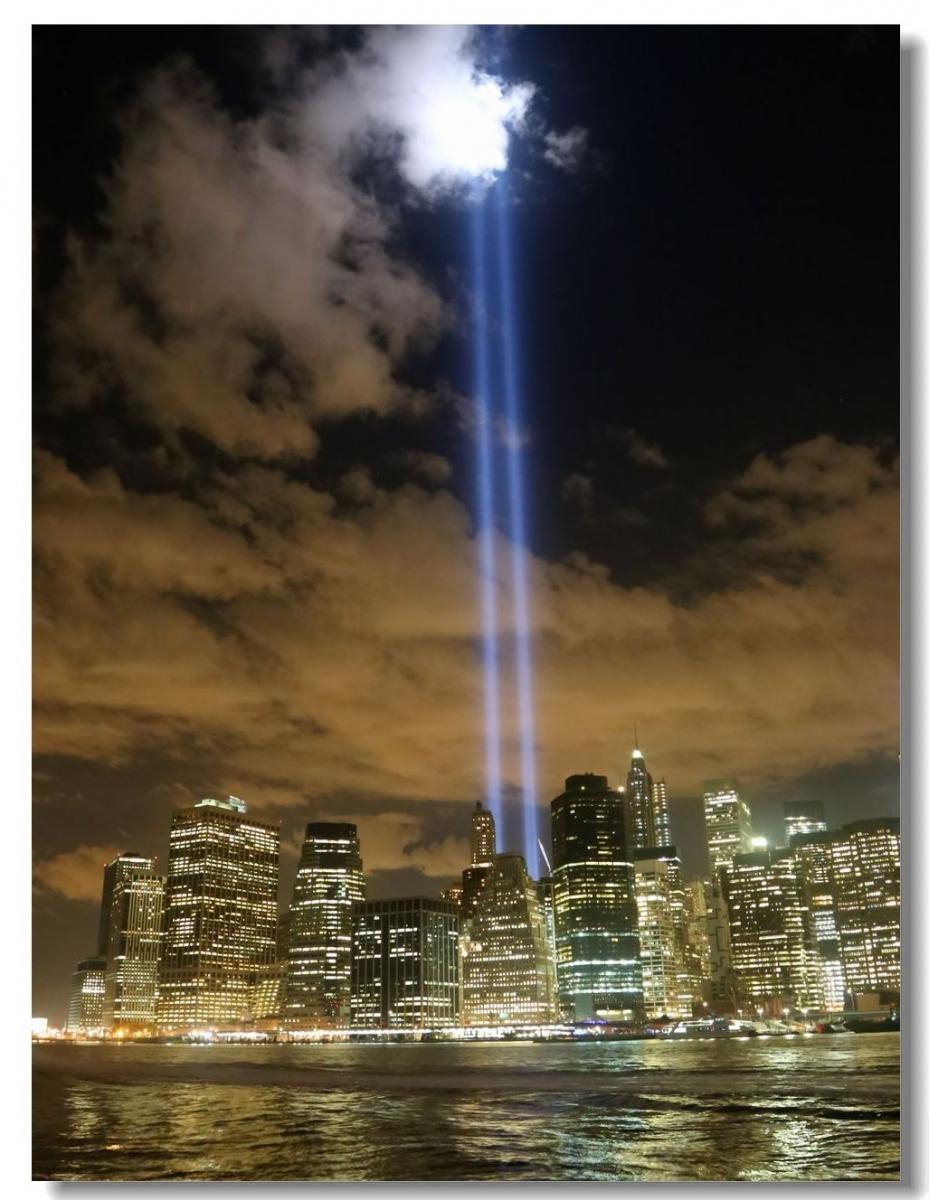 纪念9.11光柱及夜景_图1-12