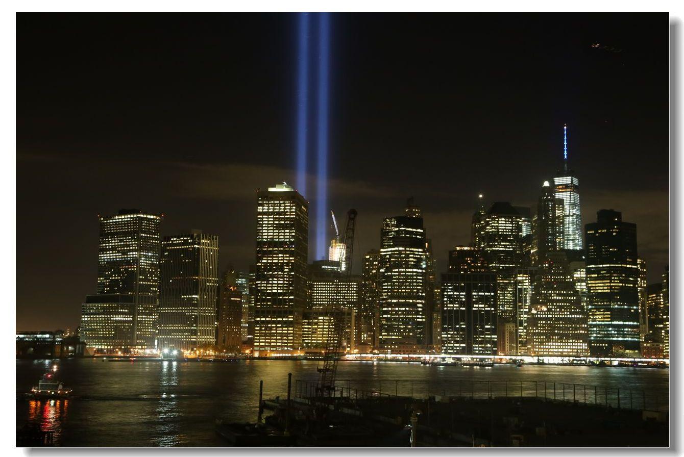 纪念9.11光柱及夜景_图1-13