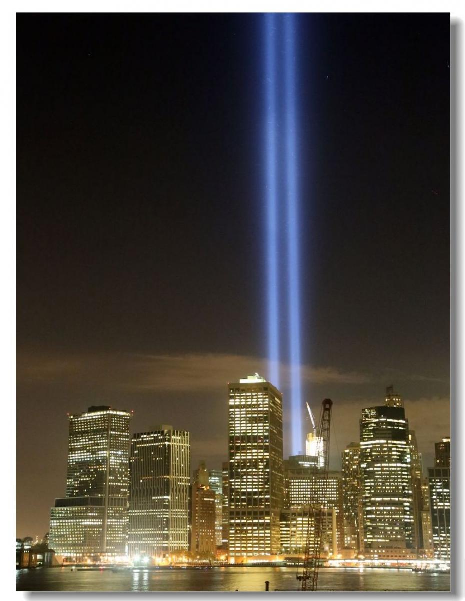纪念9.11光柱及夜景_图1-14