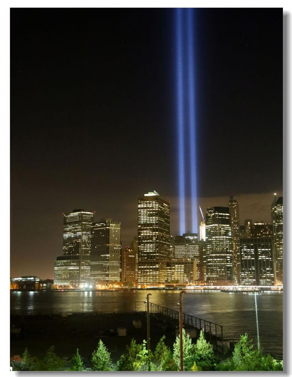 纪念9.11光柱及夜景_图1-17