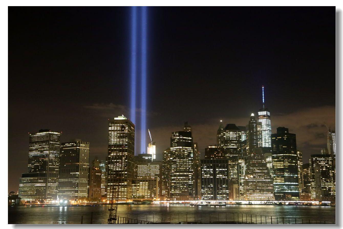 纪念9.11光柱及夜景_图1-18