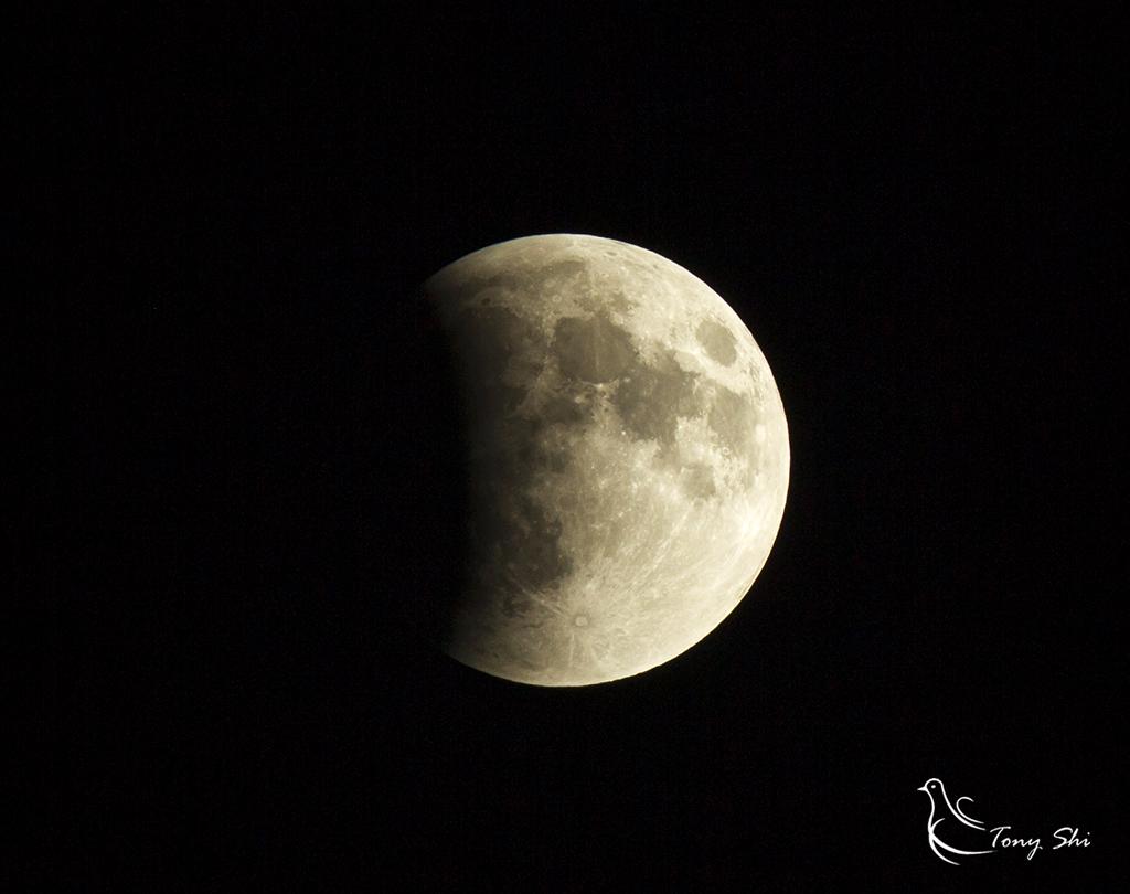 见证天文奇观【超级月亮+月全食】_图1-3