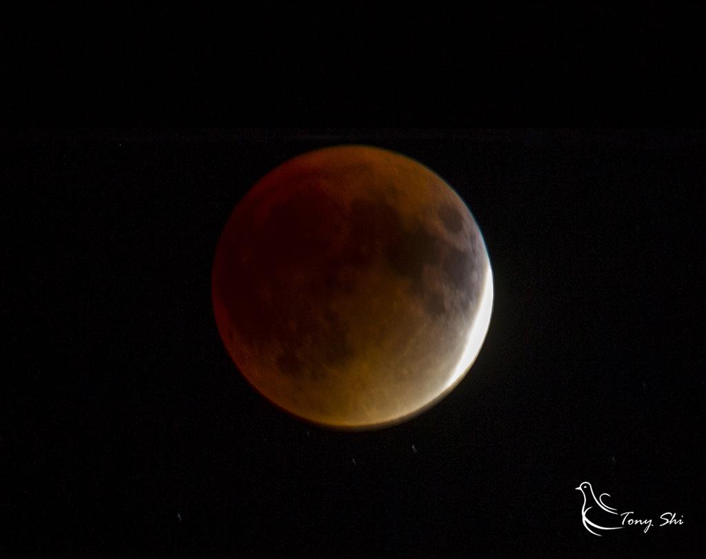 见证天文奇观【超级月亮+月全食】_图1-6