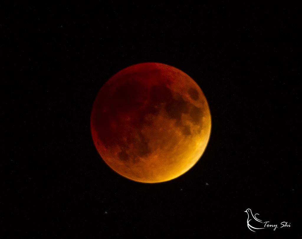 见证天文奇观【超级月亮+月全食】_图1-7