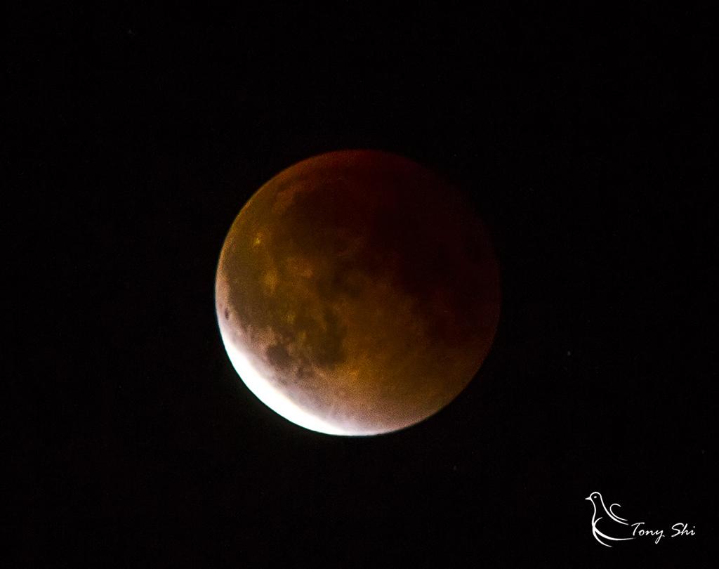 见证天文奇观【超级月亮+月全食】_图1-12