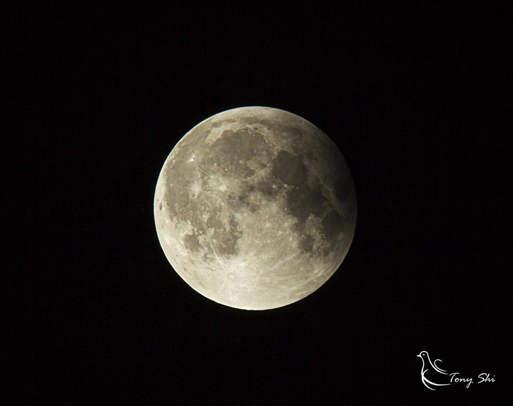 见证天文奇观【超级月亮+月全食】_图1-16