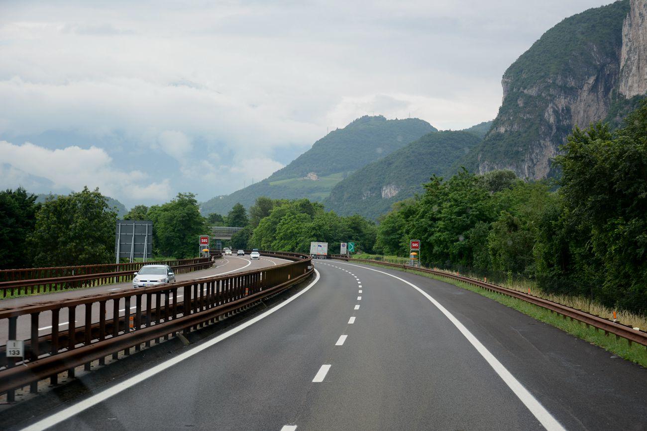 意大利米兰之途中
