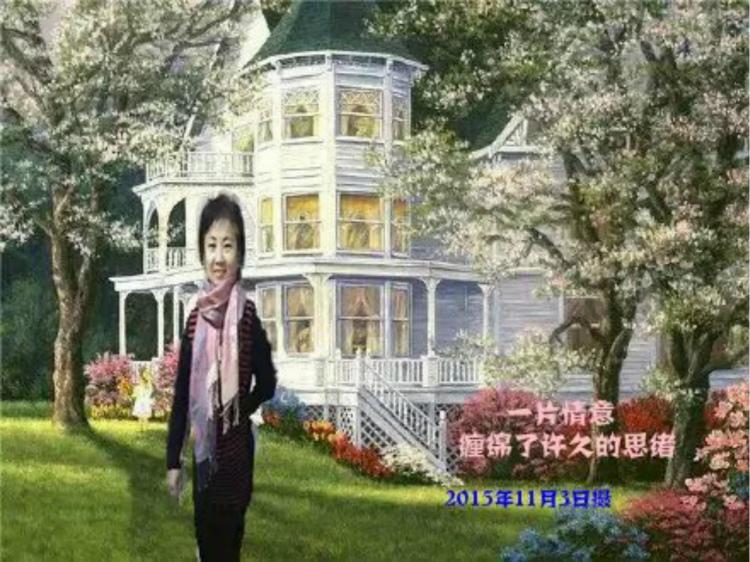 李佼娉自拍生活照抠图配风景写真 ( 1)_图1-5