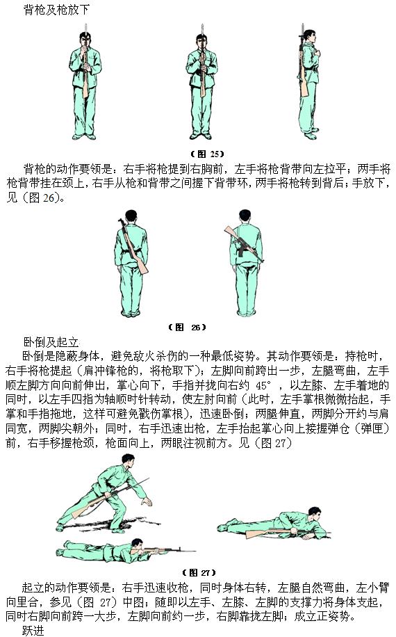 单兵动作、队列和战斗队形_图1-2
