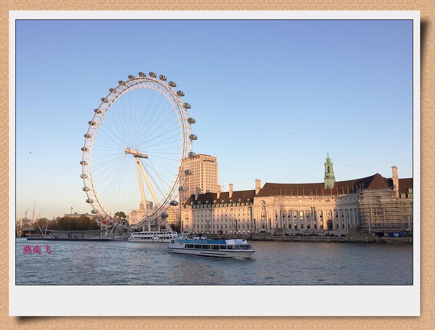 伦敦眼 —又称千禧之轮,是世