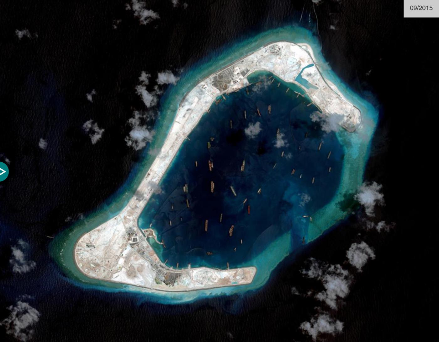 "BBC记者窥探中属""人造岛礁""实录_图1-9"