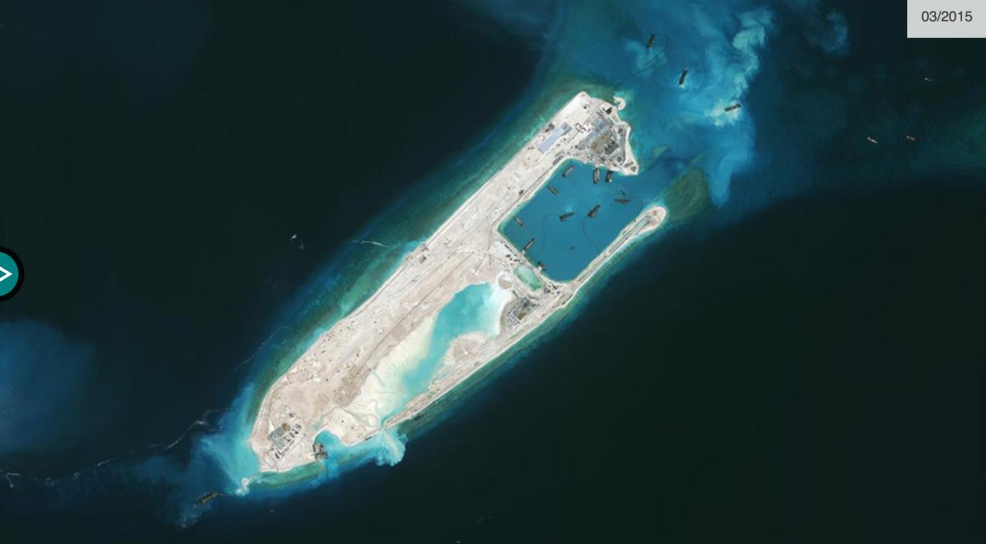 "BBC记者窥探中属""人造岛礁""实录_图1-11"