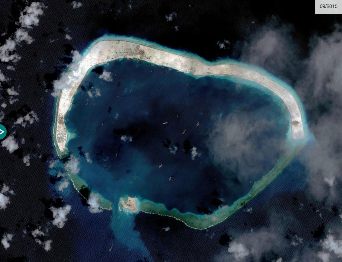 "BBC记者窥探中属""人造岛礁""实录_图1-13"