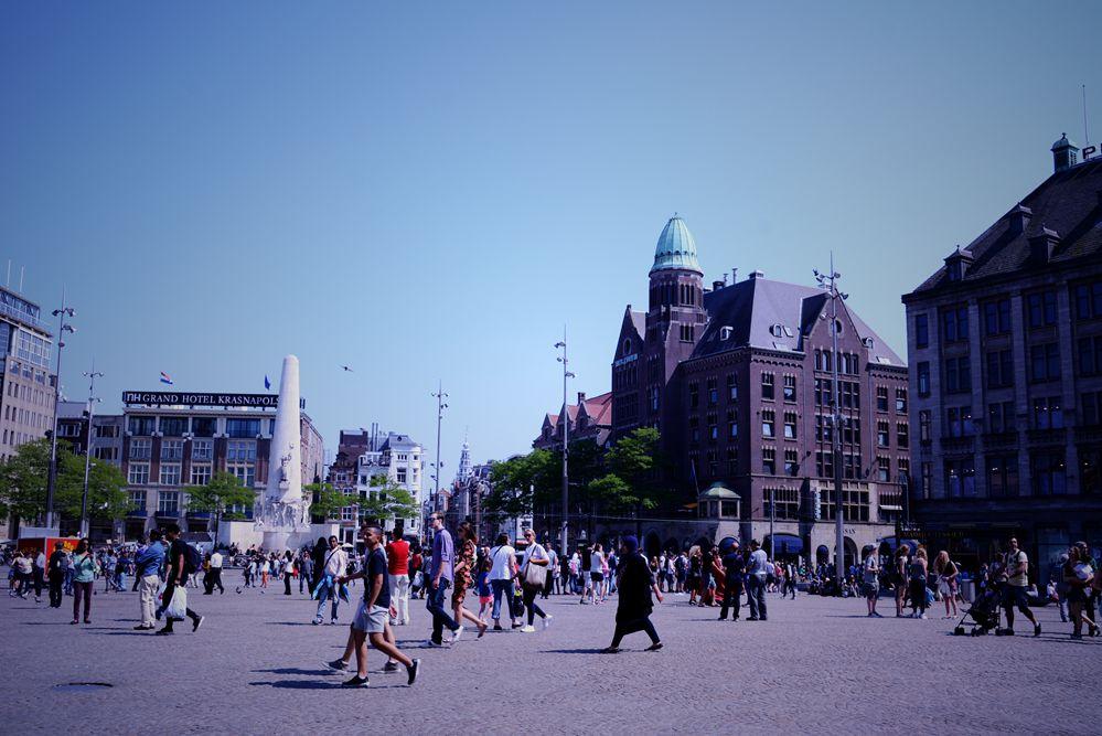 荷兰阿姆斯特丹街头即景