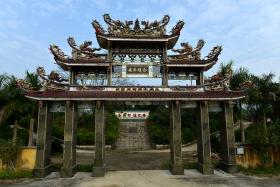 福建南部庙宇雕塑!