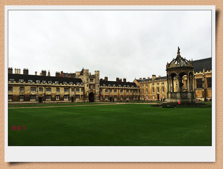 剑桥大学三一学院——是剑桥大