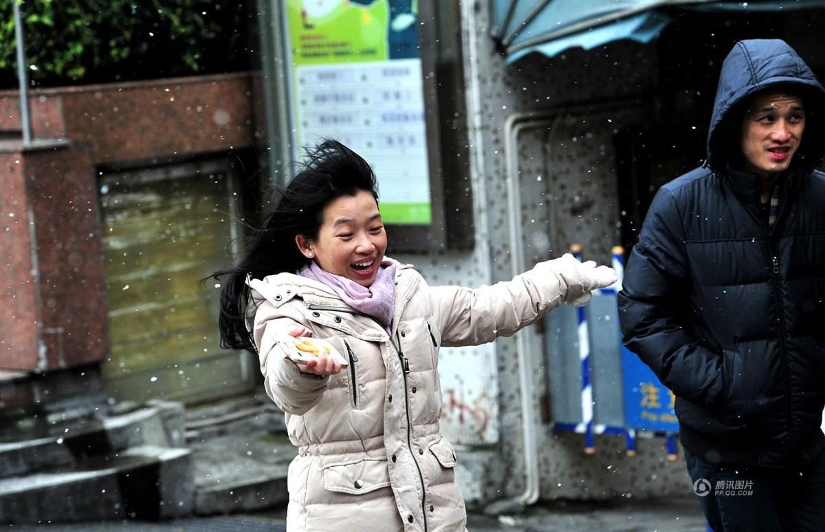 【四格照片】广州下雪啦_图1-3