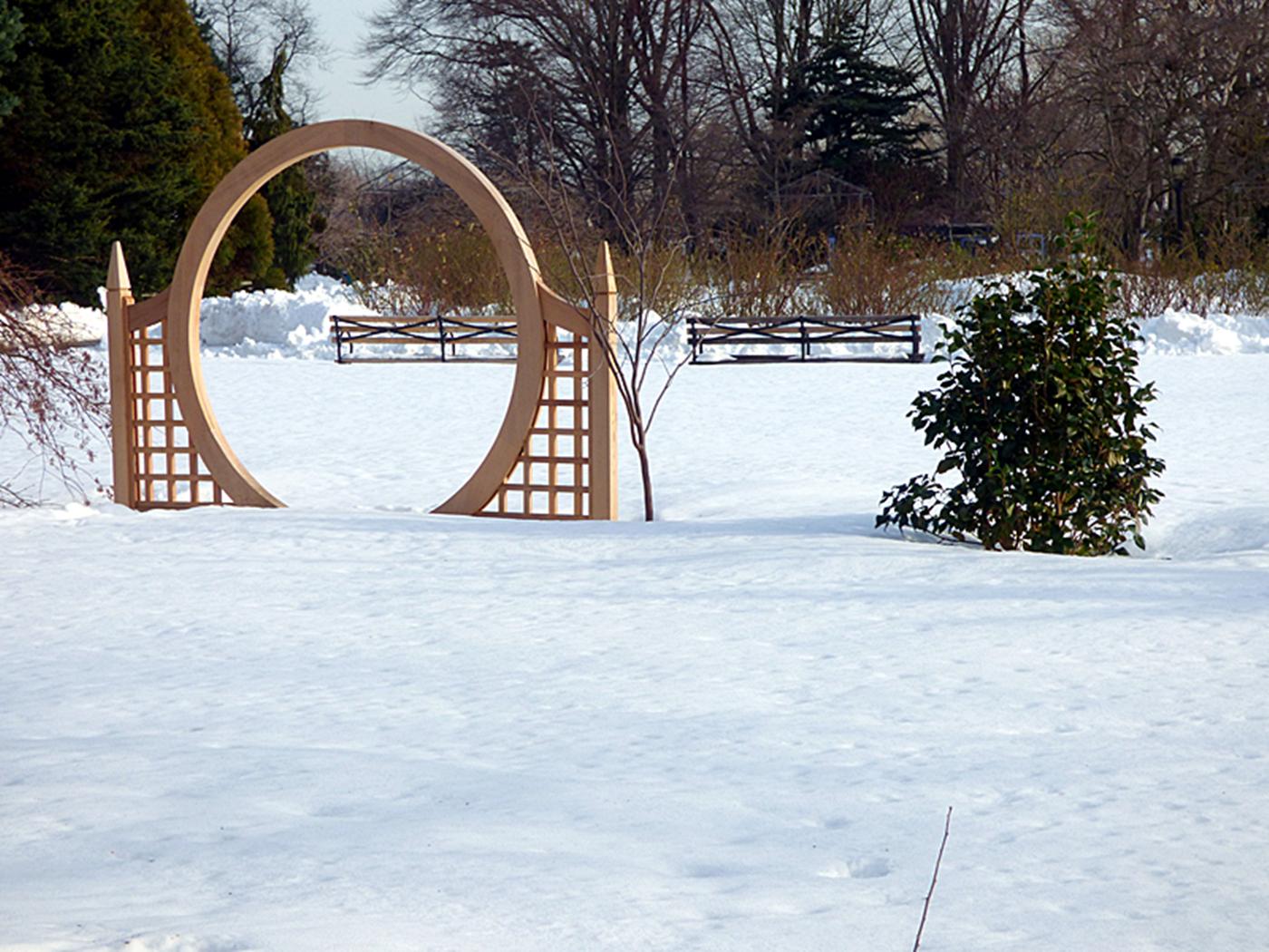法拉盛植物园雪景_图1-10