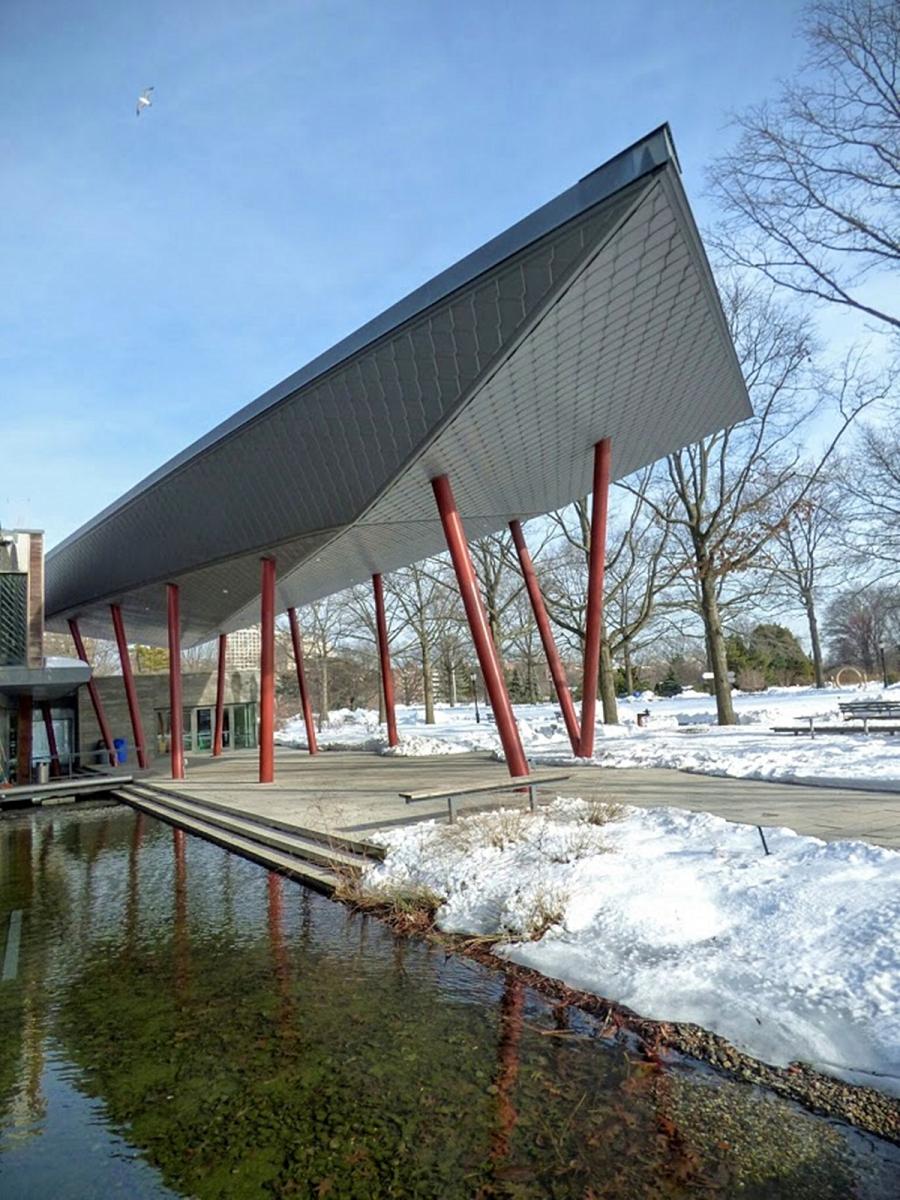 法拉盛植物园雪景_图1-11