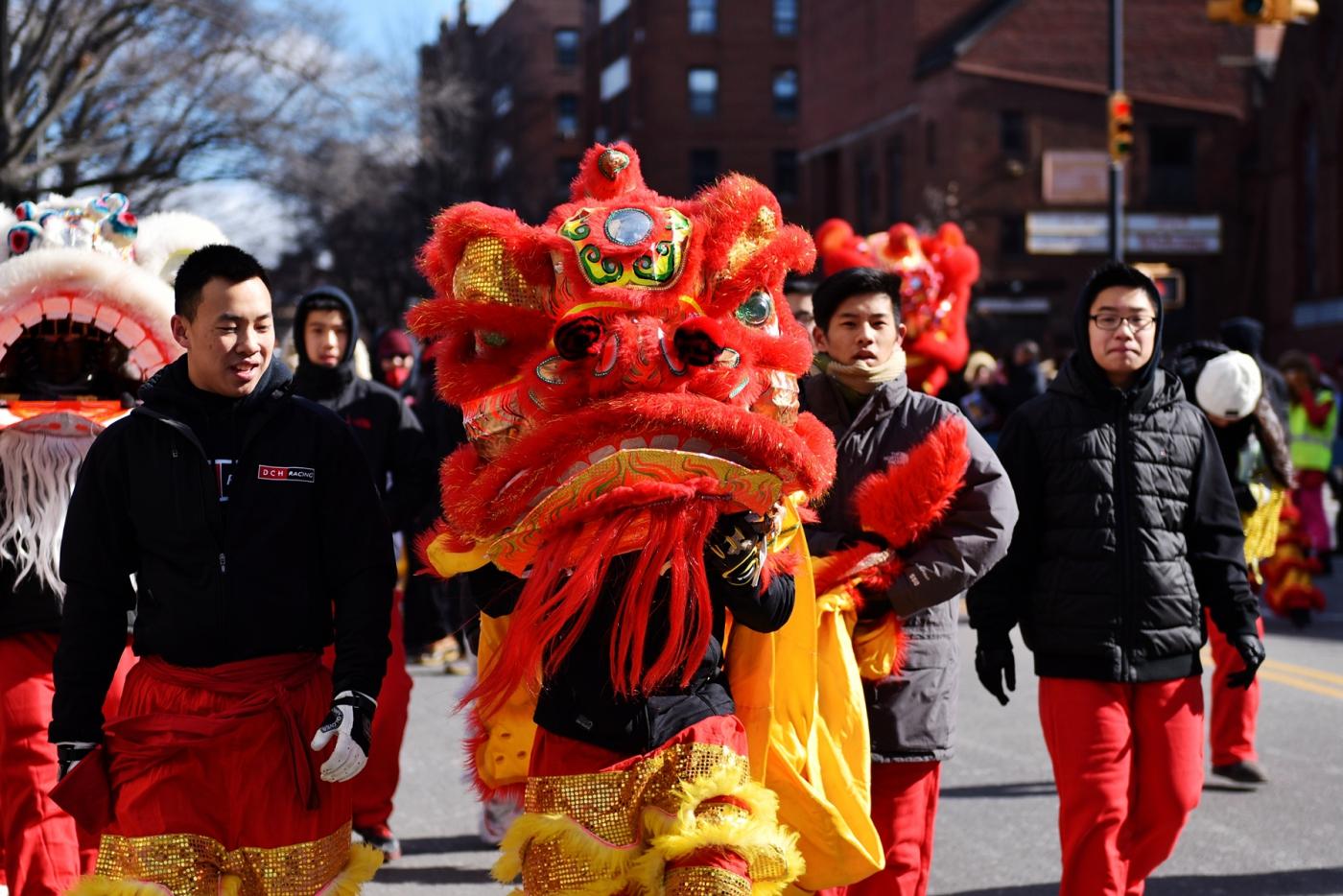 猴年纽约法拉盛春节大游行一瞥_图1-13