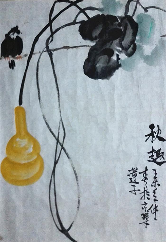 张炳瑞香诗画_图1-1