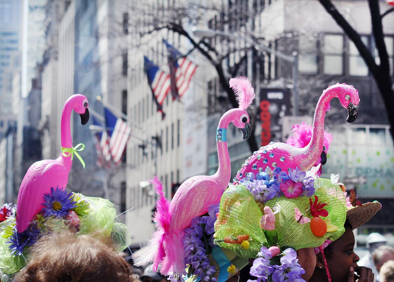 复活节---那些在帽子上说着春天故事的趣味_图1-3