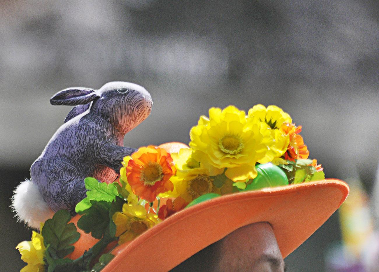 复活节---那些在帽子上说着春天故事的趣味_图1-13