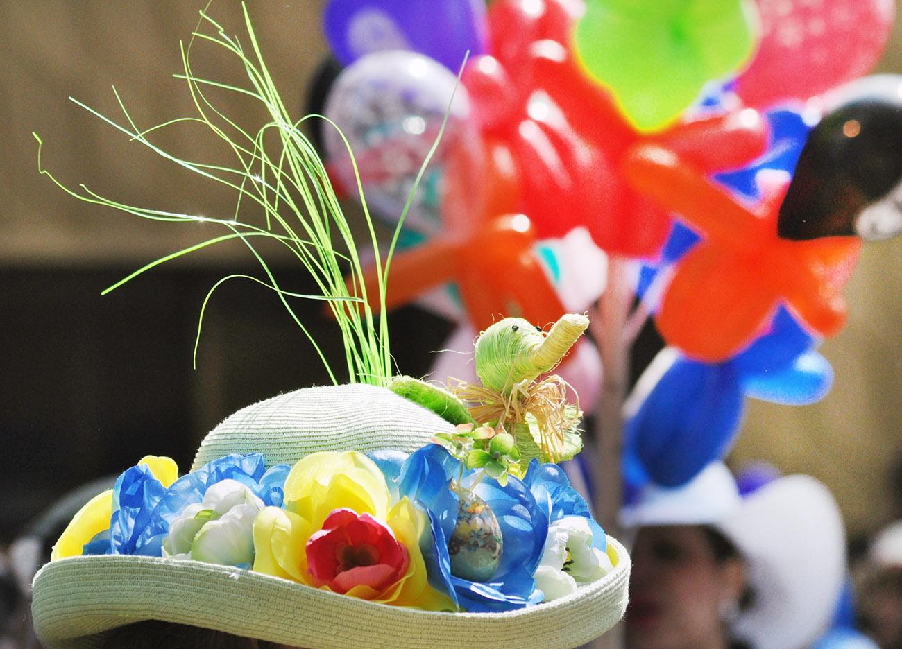 复活节---那些在帽子上说着春天故事的趣味_图1-10