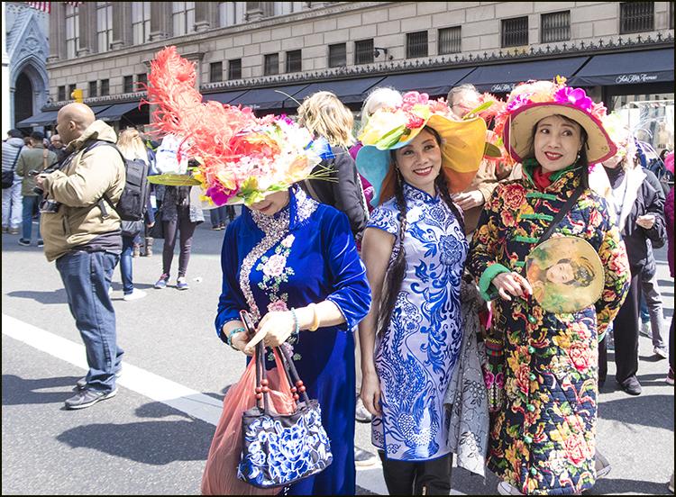 【star 8(龍的传人)拍攝】2016纽约复活节帽子游行_图1-30