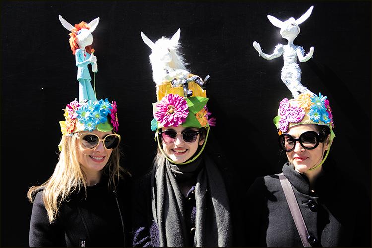 【star 8(龍的传人)拍攝】2016纽约复活节帽子游行_图1-23