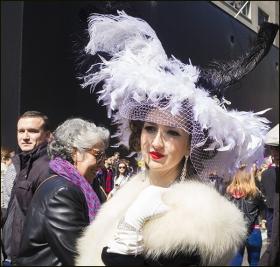 【star 8拍攝】2016纽约复活节帽子游行人像