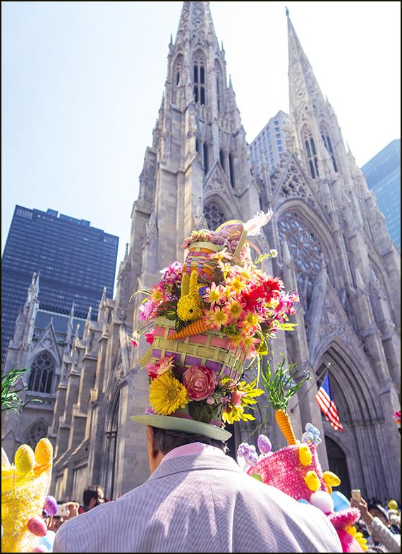 【star 8(龍的传人)拍攝】2016纽约复活节帽子游行_图1-3