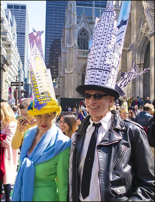 【star 8(龍的传人)拍攝】2016纽约复活节帽子游行_图1-2