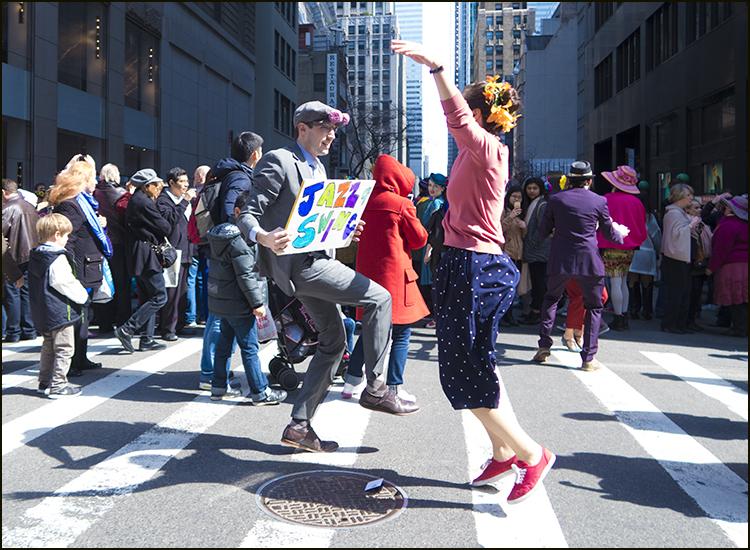 【star 8(龍的传人)拍攝】2016纽约复活节帽子游行_图1-12