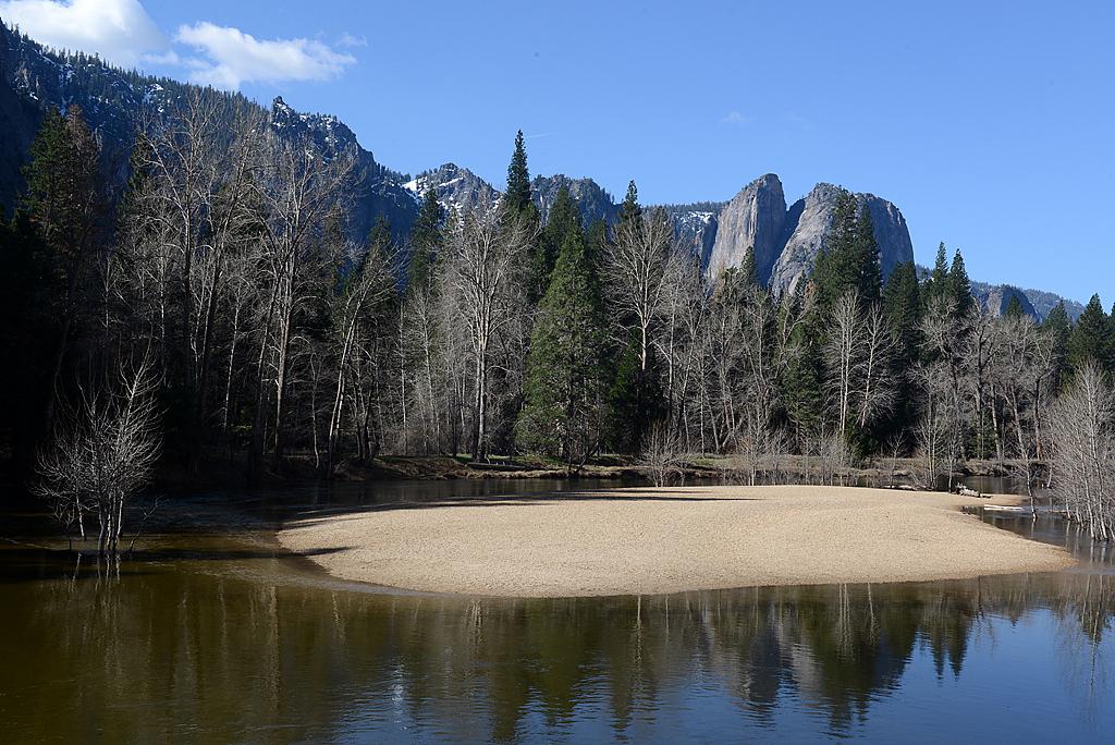 优山美地的水 (Yosemite Natio