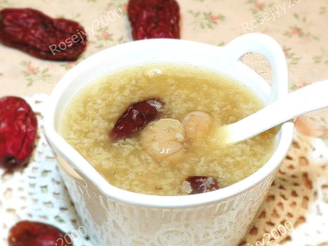 红枣桂圆糯米粥_图1-1