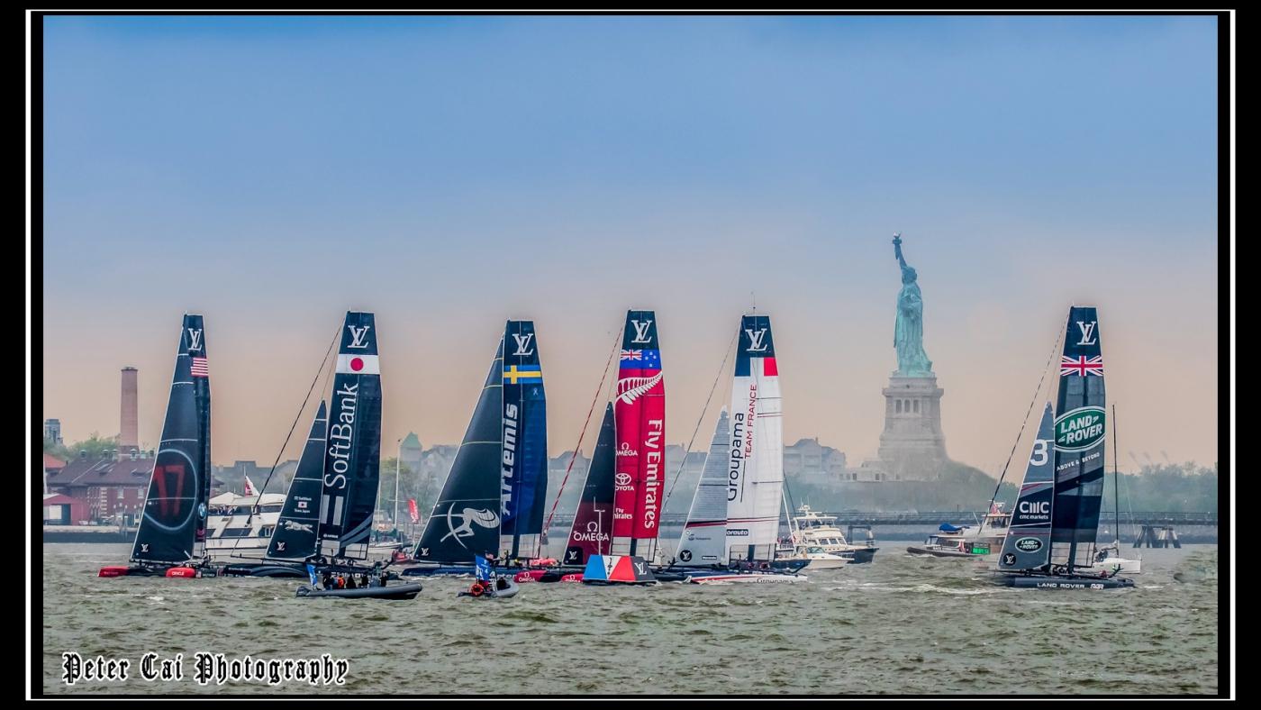 美洲杯LV之路易斯威登杯帆船赛 现场_图1-1
