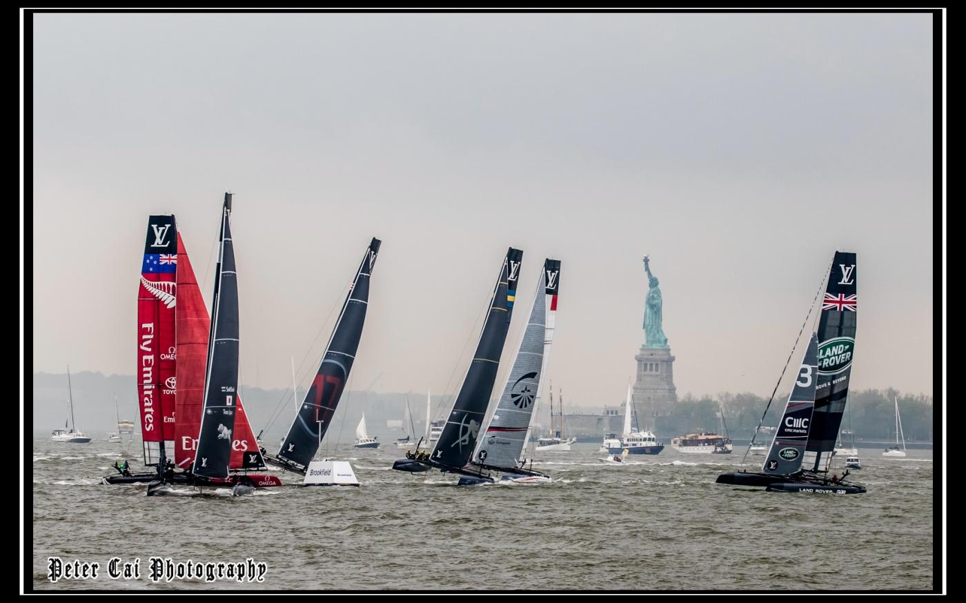 美洲杯LV之路易斯威登杯帆船赛 现场_图1-3