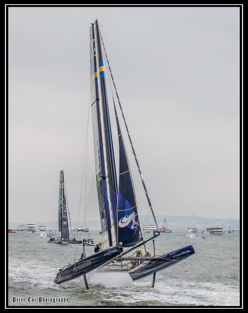 美洲杯LV之路易斯威登杯帆船赛 现场_图1-4