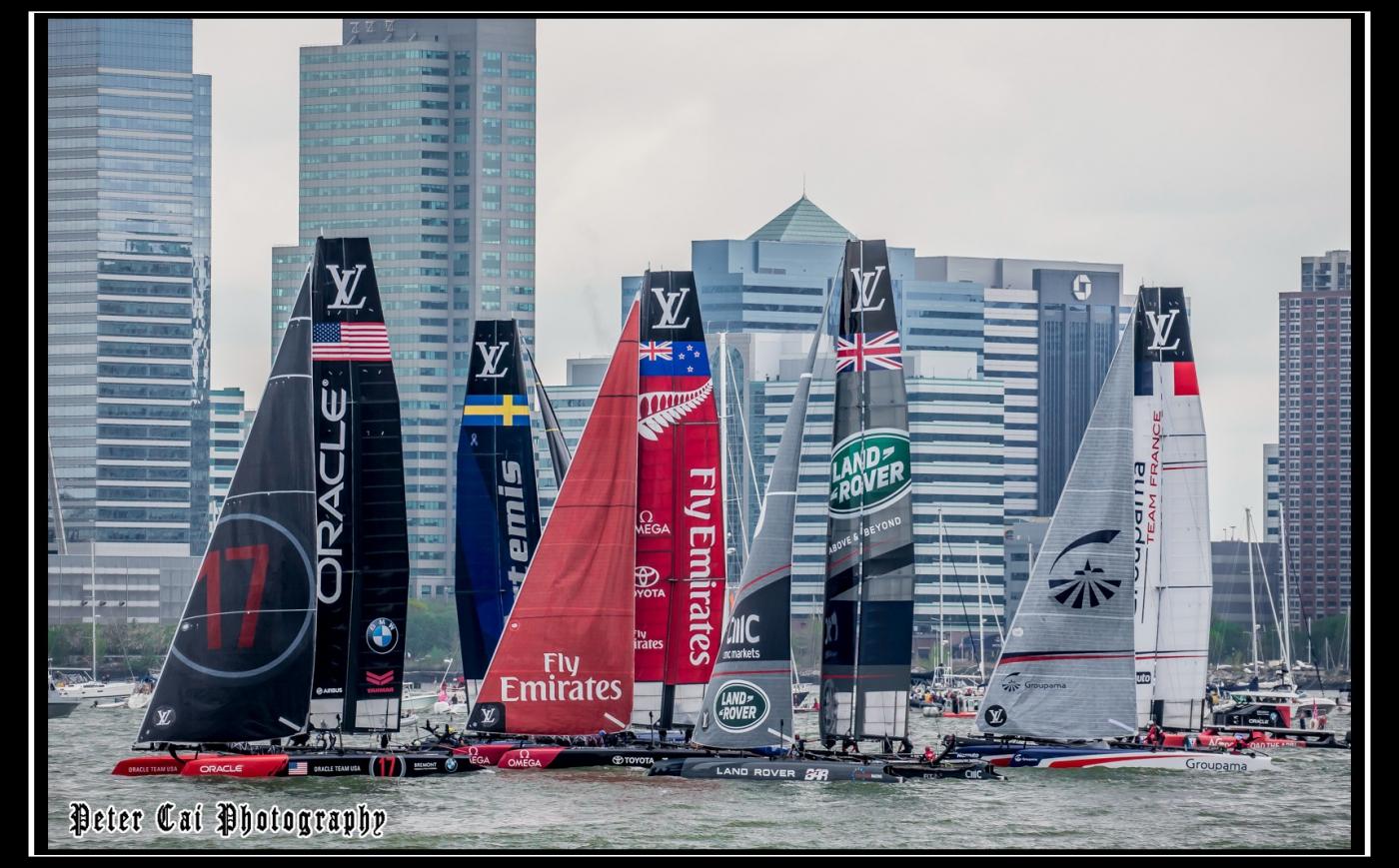 美洲杯LV之路易斯威登杯帆船赛 现场_图1-5