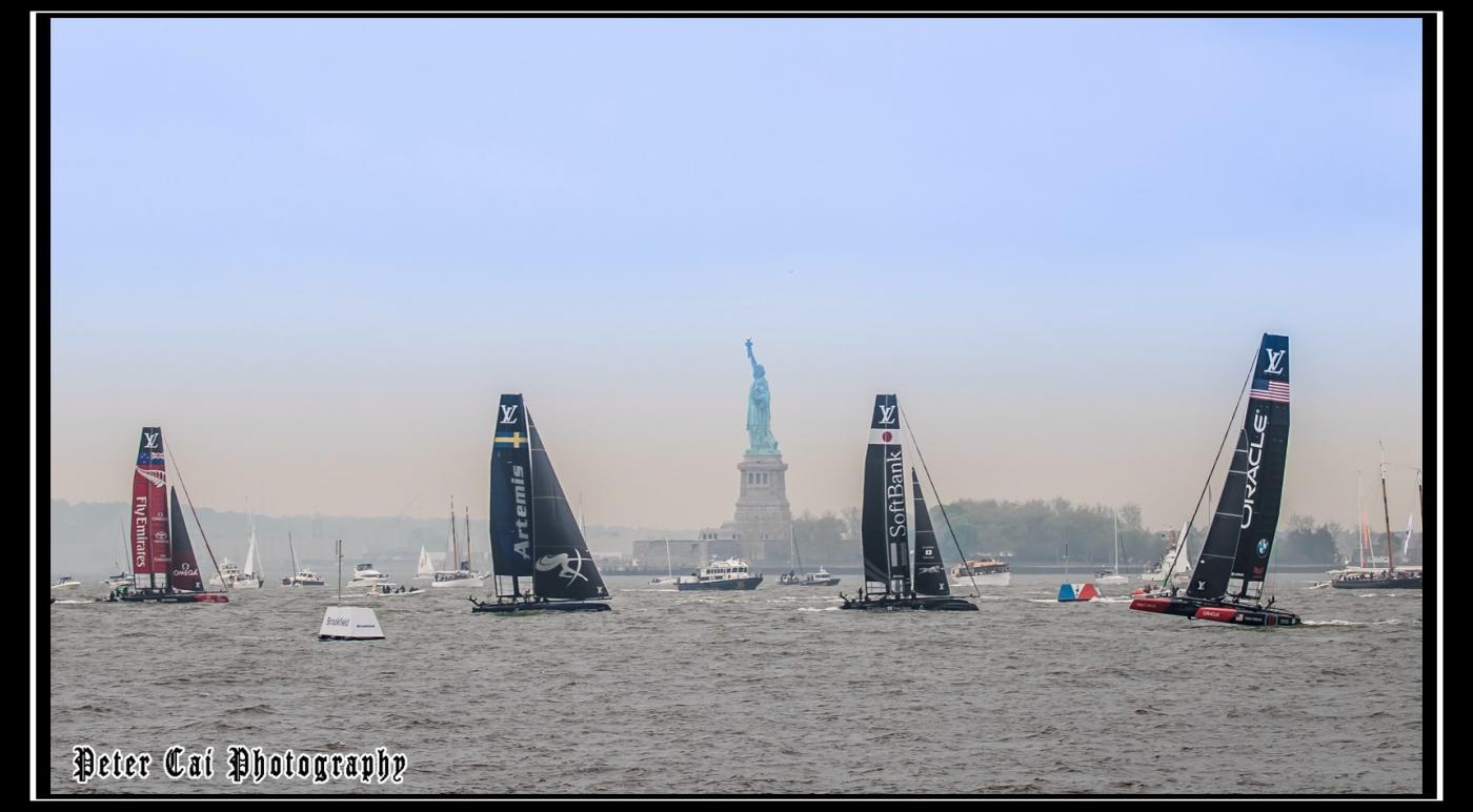 美洲杯LV之路易斯威登杯帆船赛 现场_图1-12