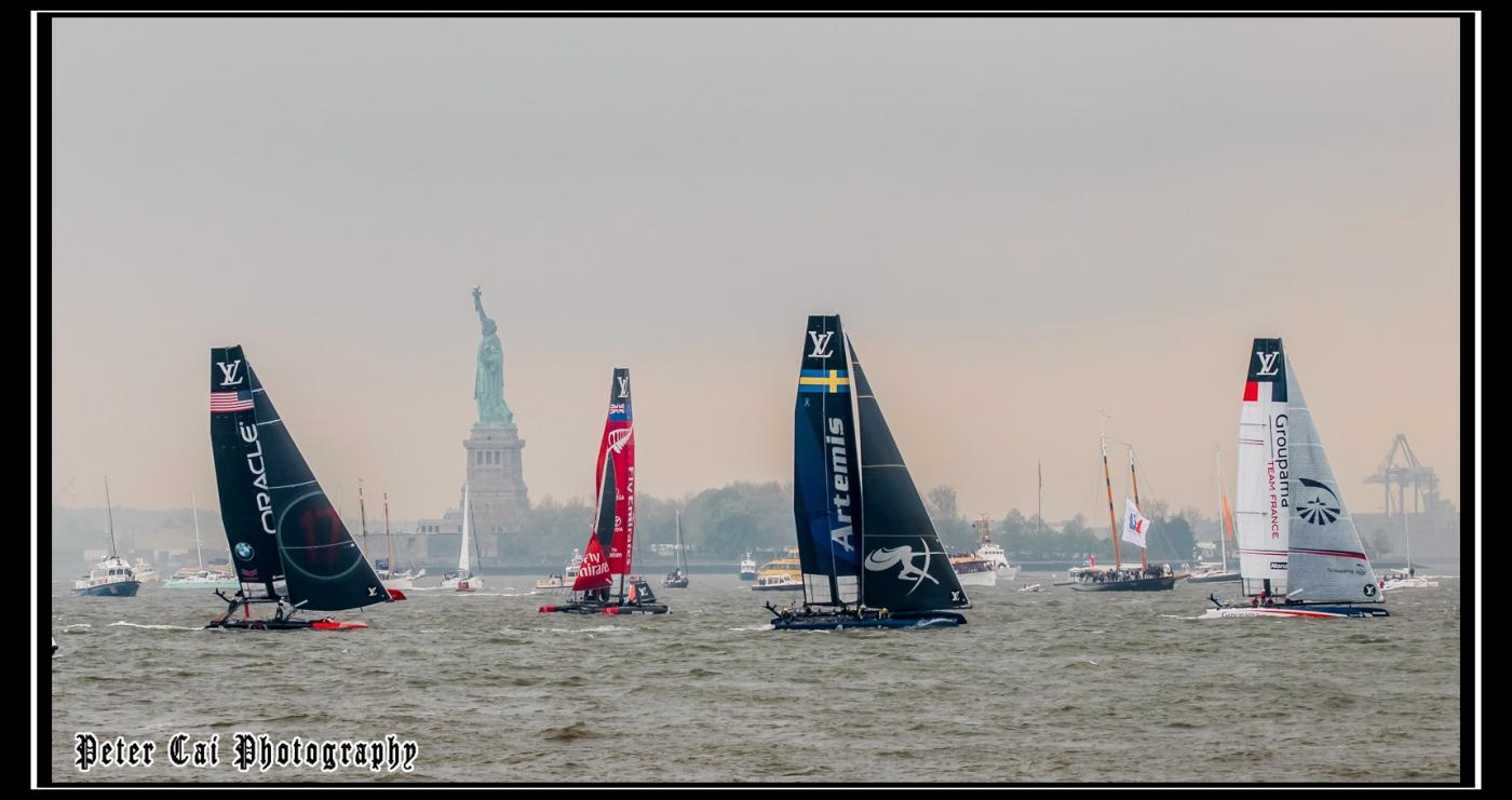 美洲杯LV之路易斯威登杯帆船赛 现场_图1-16